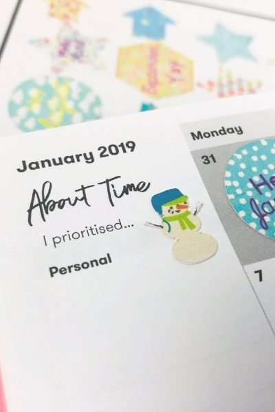 Making your own cricut planner stickers