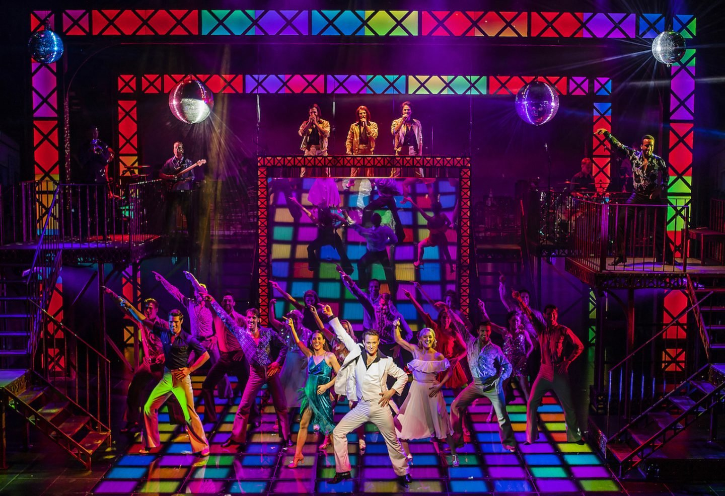 The Cast of Saturday Night Fever - UK Tour (c) Pamela Raith Photography_083