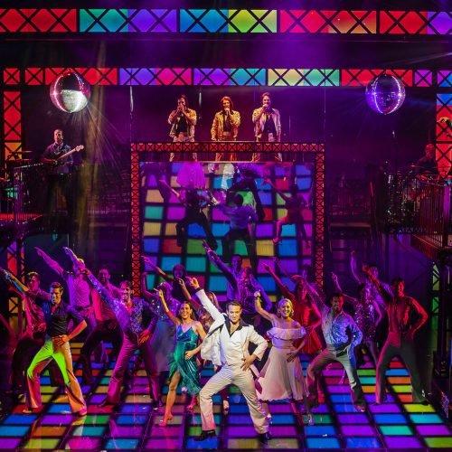 The Cast of Saturday Night Fever - UK Tour (c) Pamela Raith Photography_083