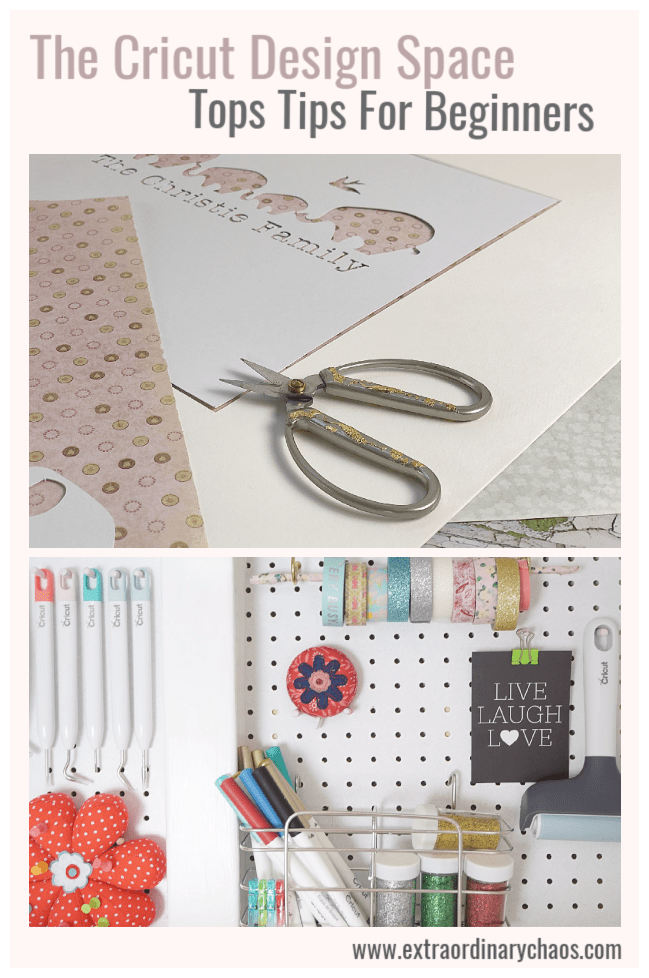 Cricut Design Space Tips And Advice For Beginners my tops tips on how to start to design your own images and templates with cutting and slicing