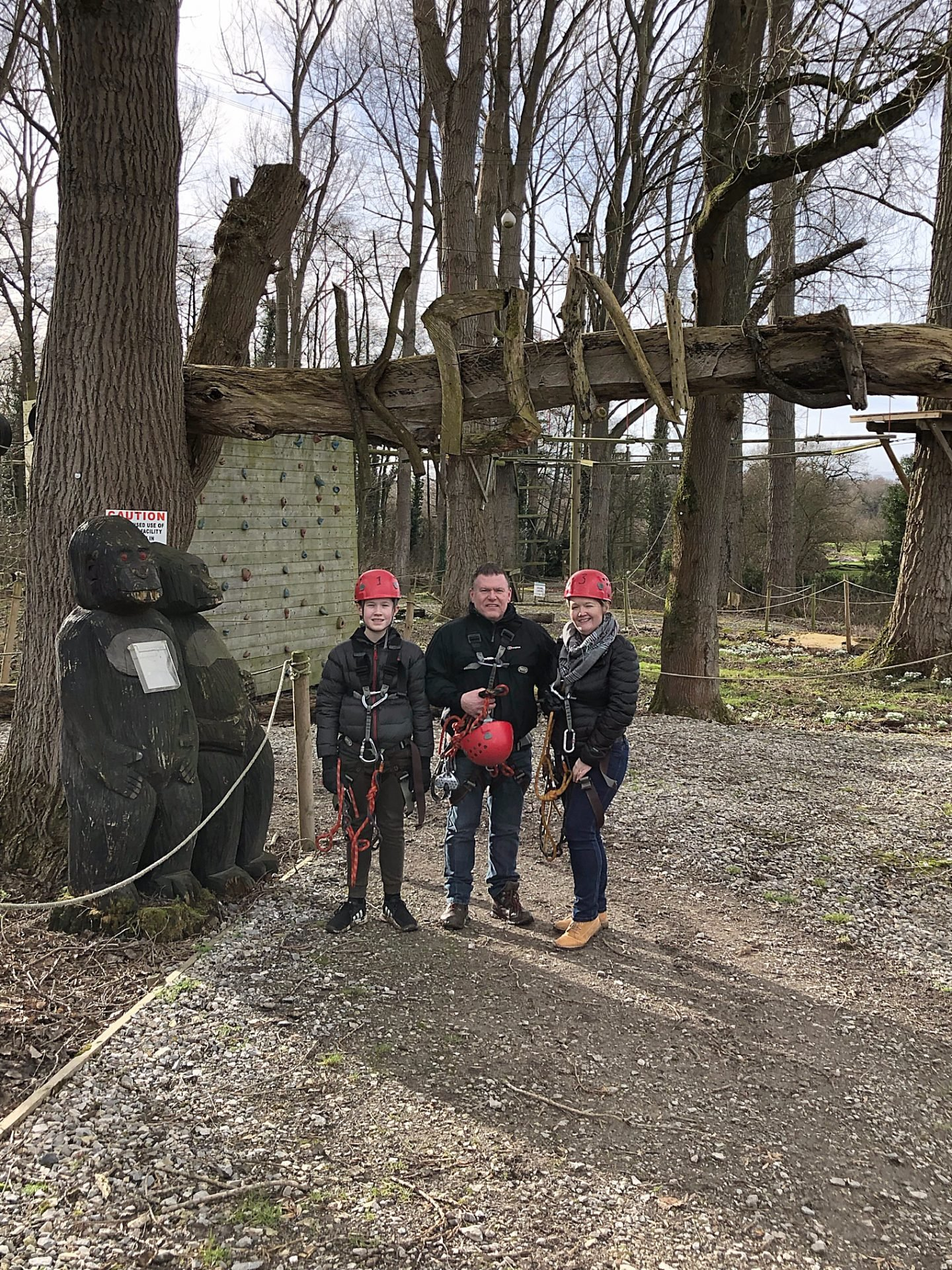 Rope Course At Carden Park