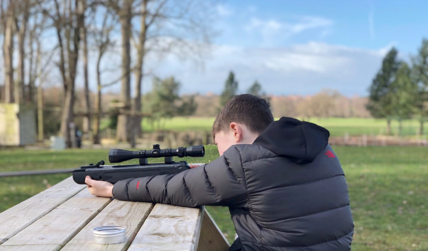 Shooting Lesson At Carden Park