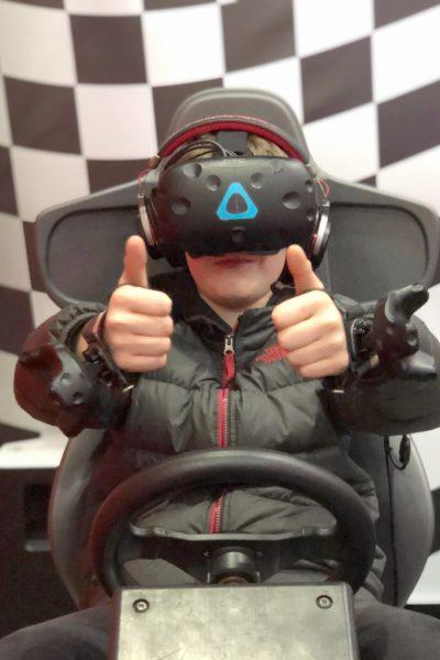 VR at Hollywood Bowl Leeds
