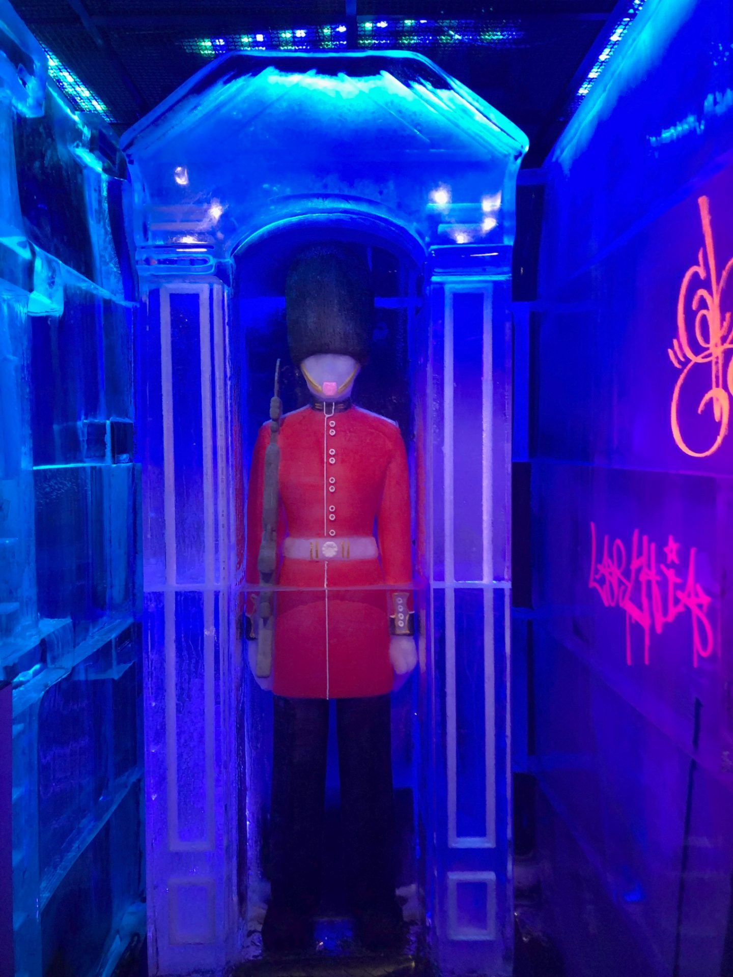 Ice Bar In London