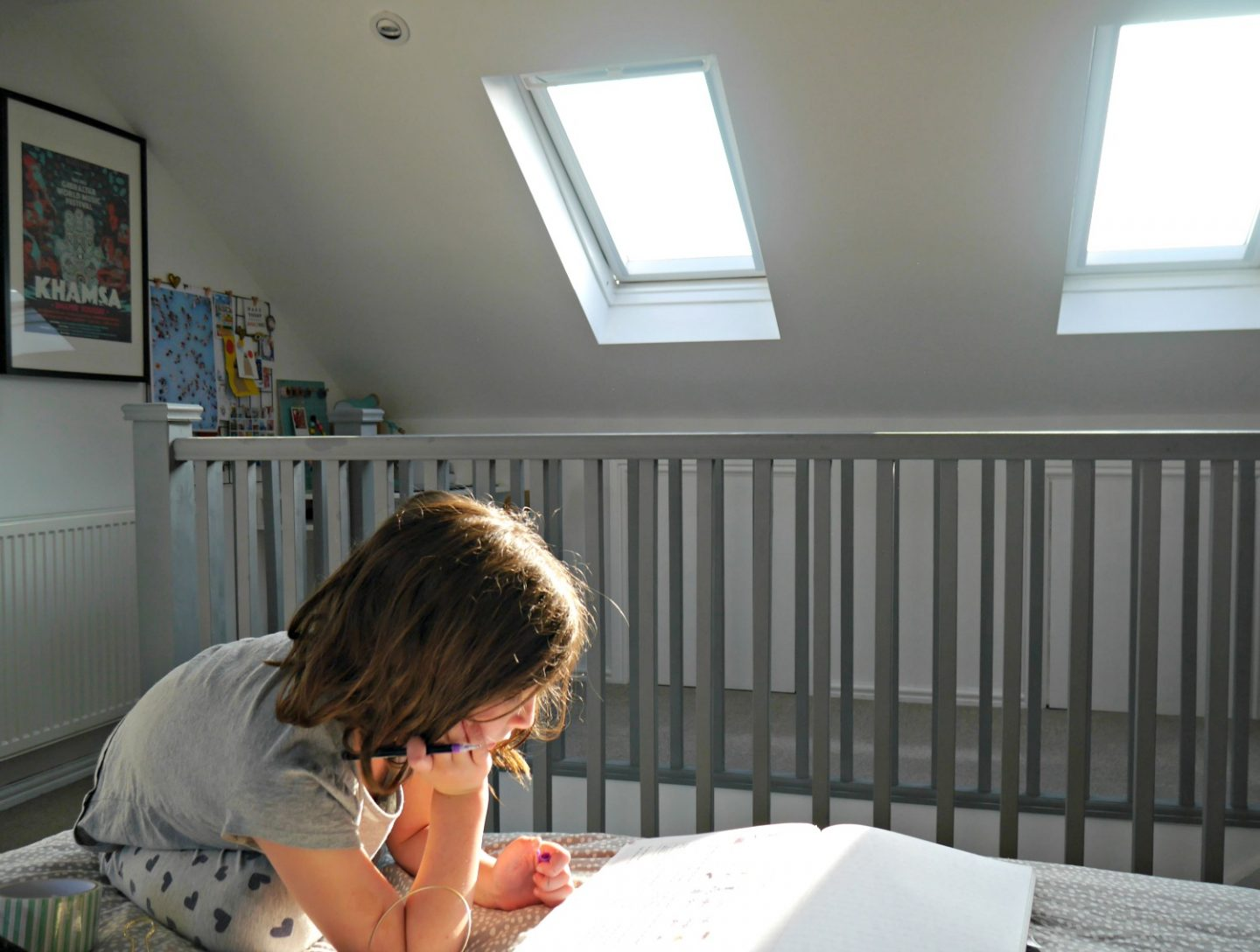 How to add a roof playroom and create light