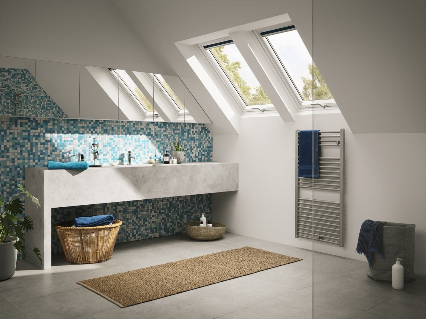 Loft Bathroom Ideas To Create Space And Light
