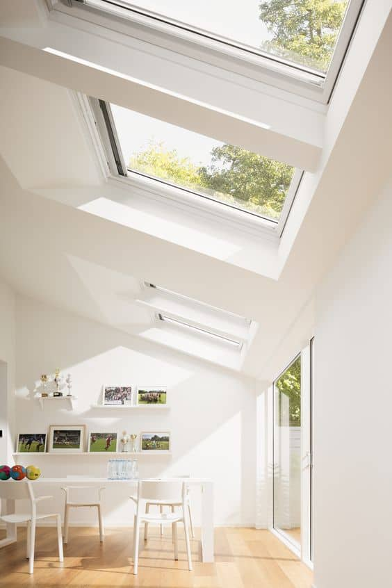 How to add light to a kitchen with a Kitchen roof window