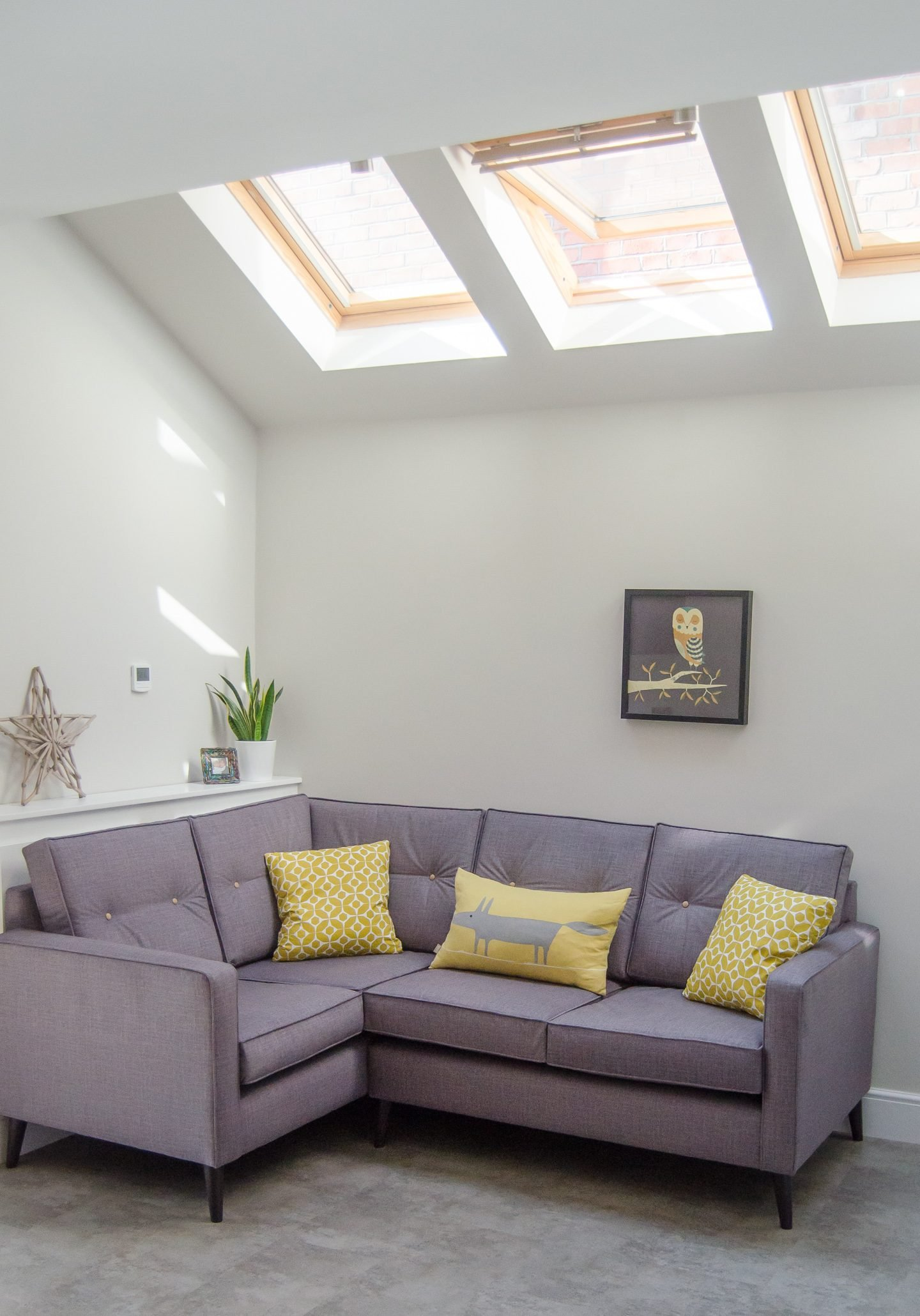How A VELUX roof window can add light and space to a room