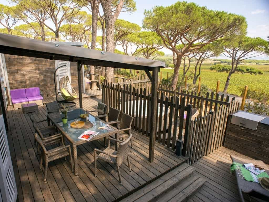 Cottage with Jakuzzi overlooking the south of france
