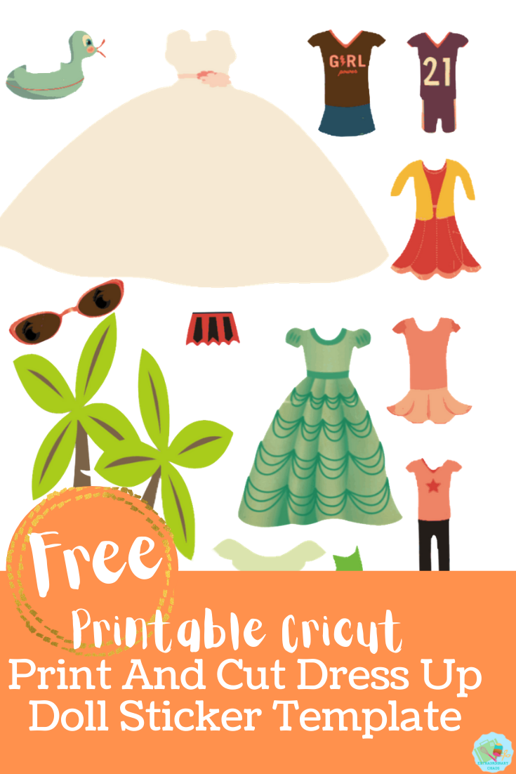 Free downloadable printable dress up dolls and outfits templates