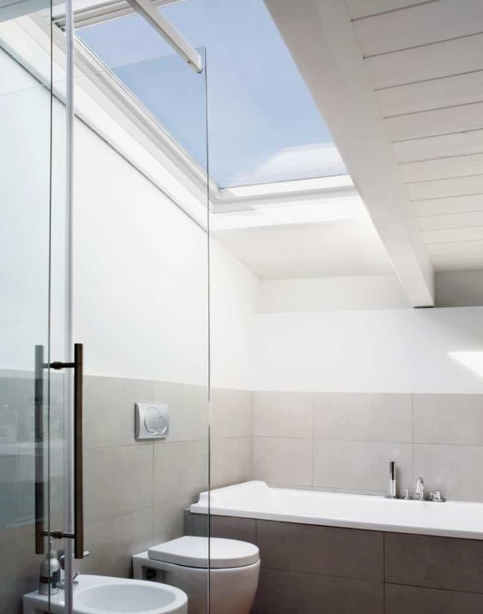 Choosing a VELUX for a bathroom