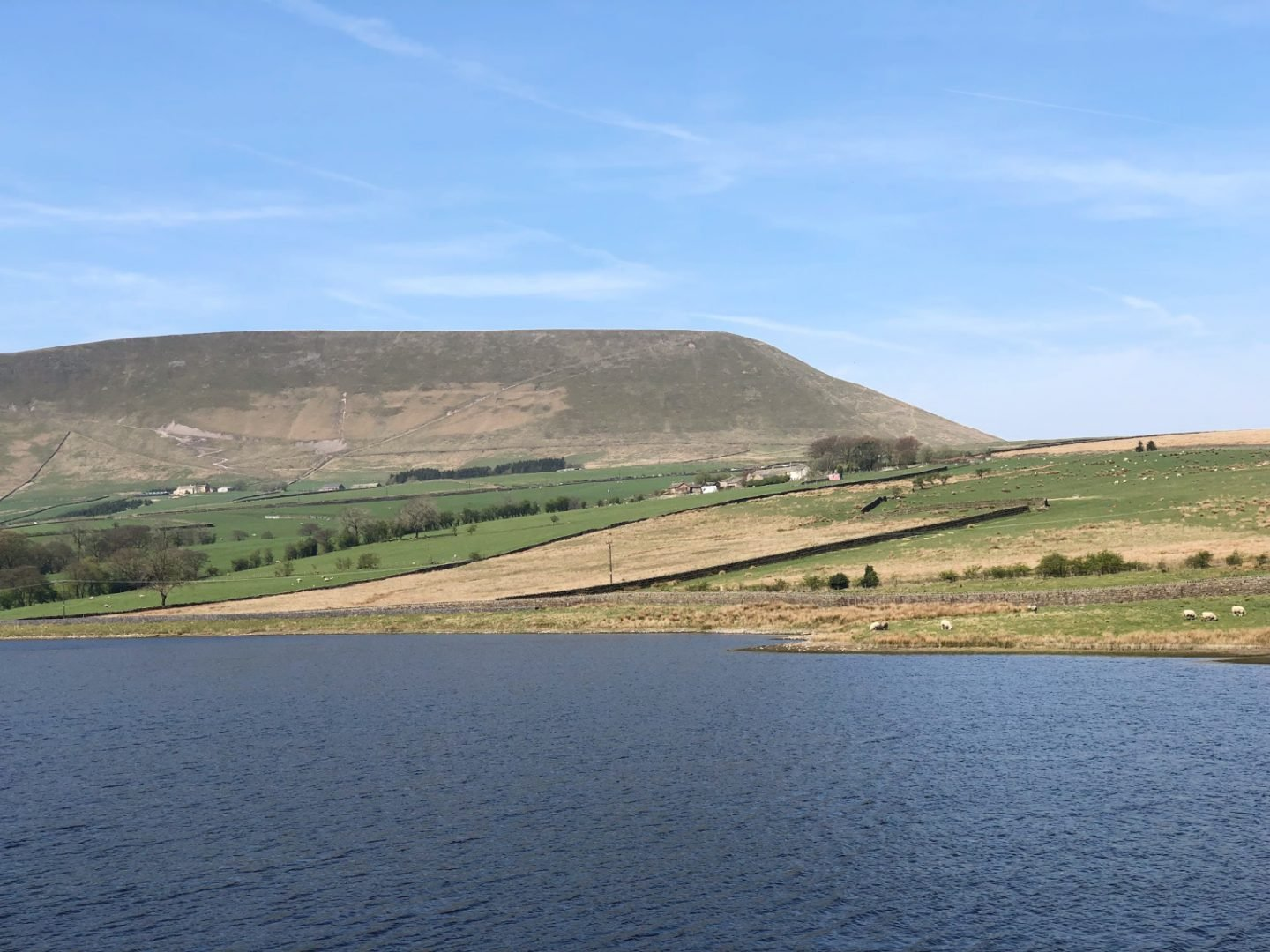 Pendle Hill View From The Sculpture Trail