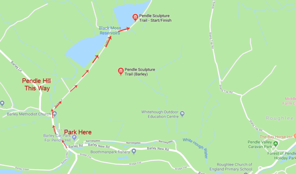 Where Is Pendle Sculpture Trail