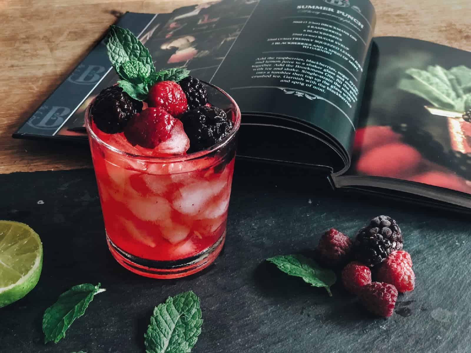 Brockmans Black Book of Gin Cocktails