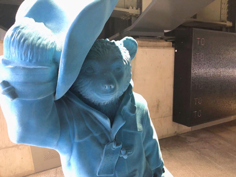 Paddington Bear in Little Venice London