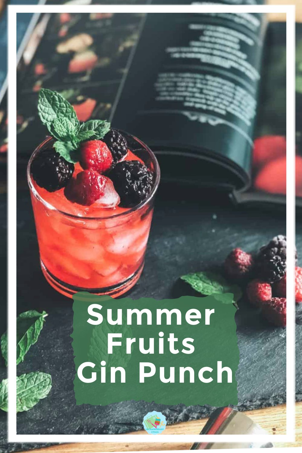 Summer Fruits gin punch-2