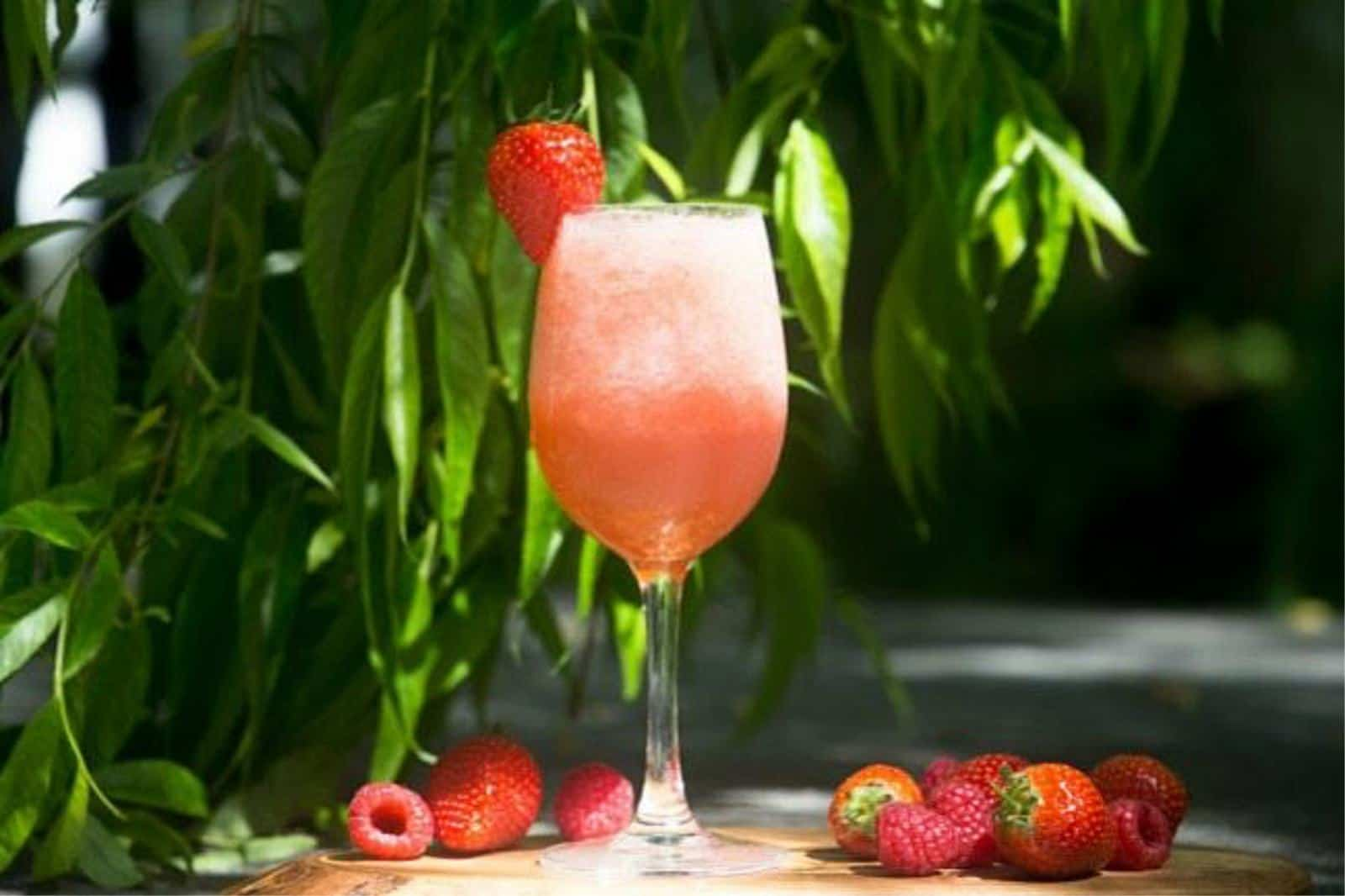Berry Fun Summer Cocktail