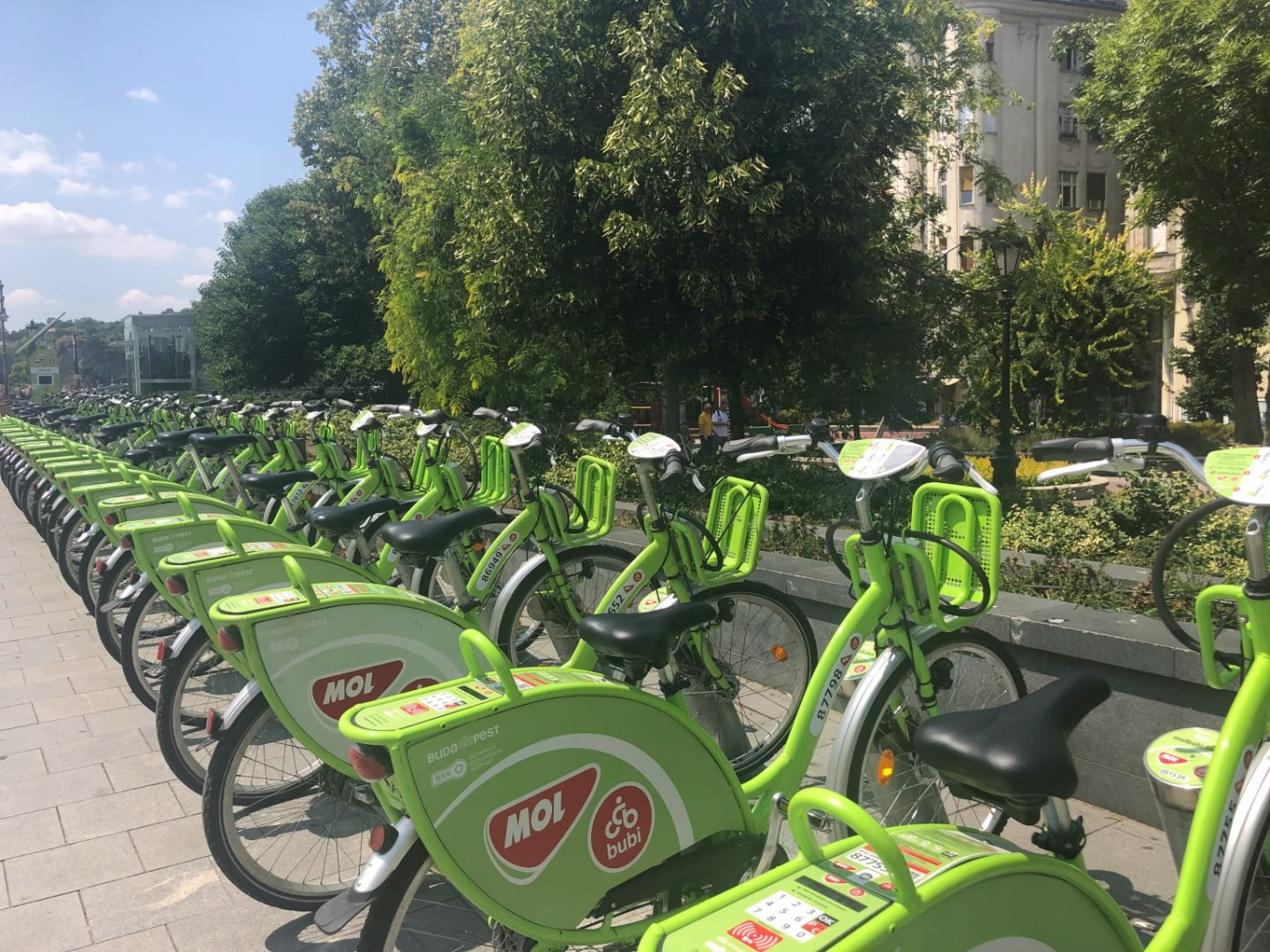 Bike hire in Budapest