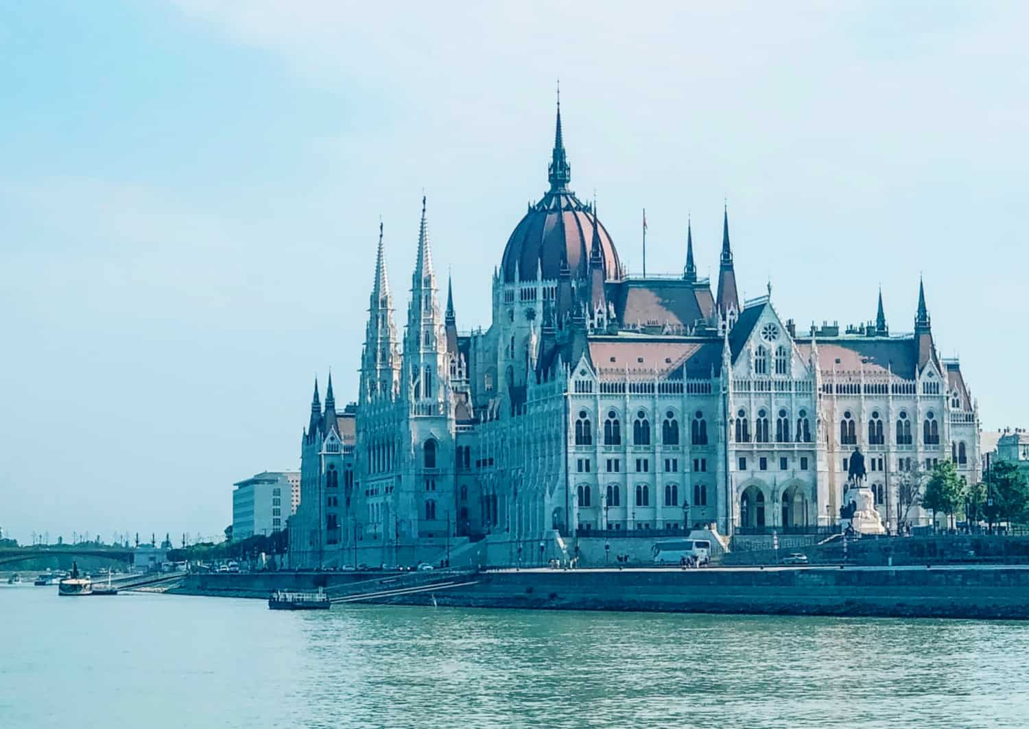Budapest Parliament from the Danube