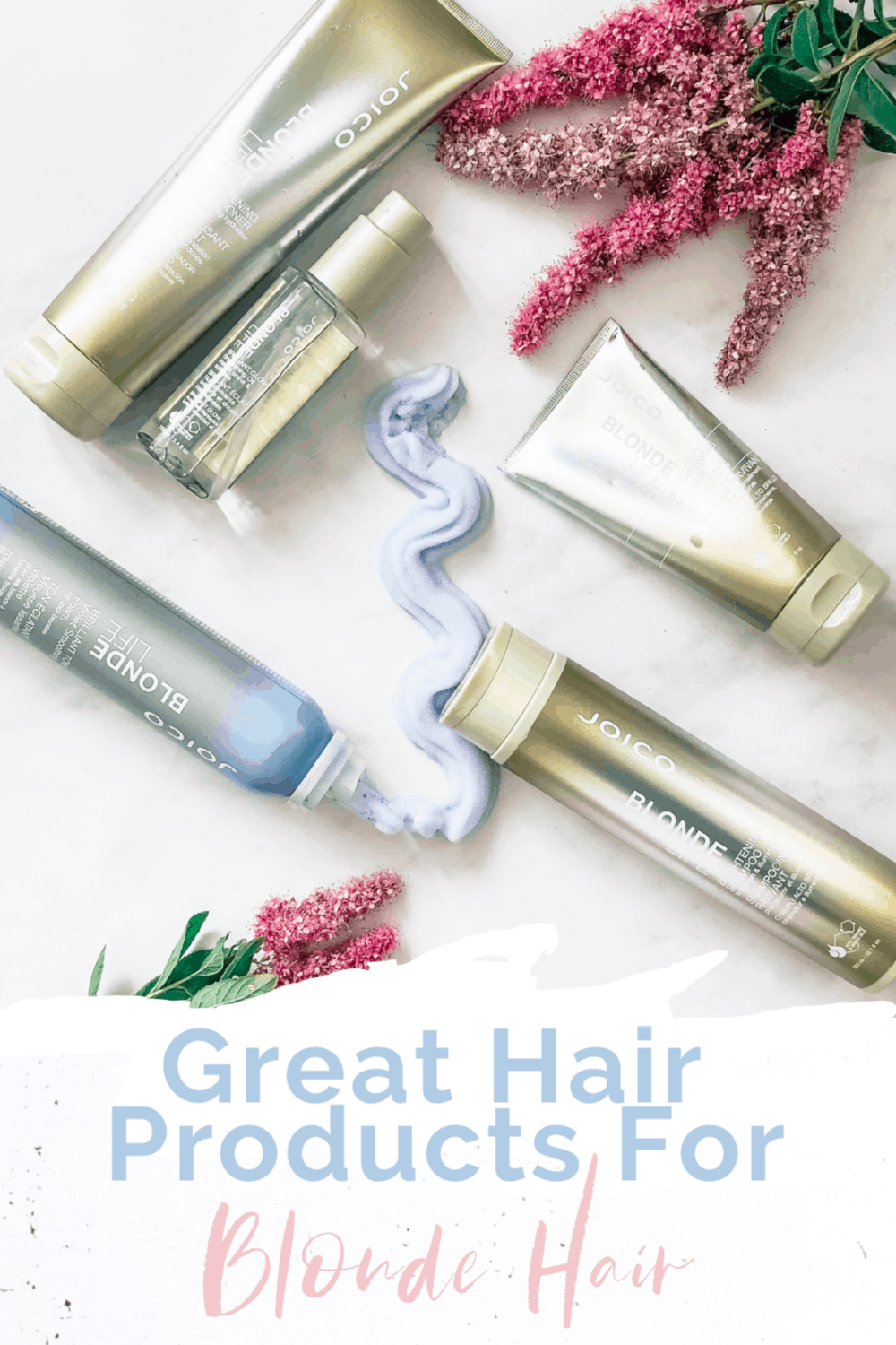 Gereat hair products for keeping hair blonde and healthy