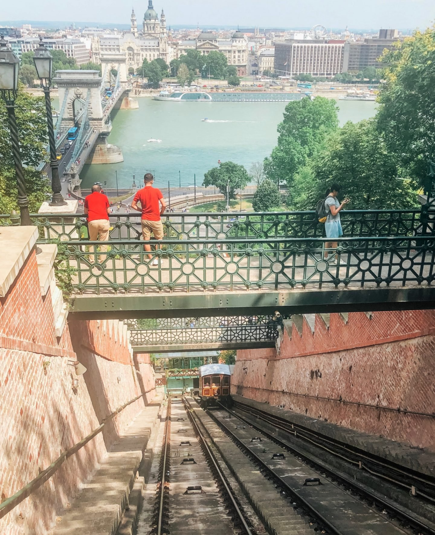The funicular at Buda castle