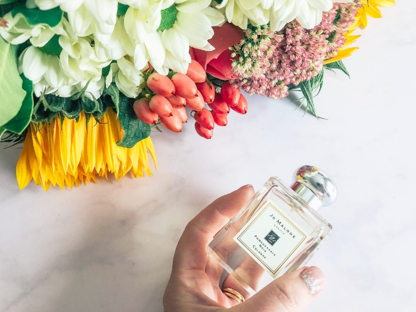 Flowers and Jo Malone