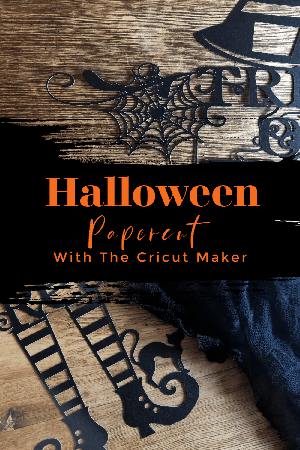 Halloween Papercut With The Cricut Maker