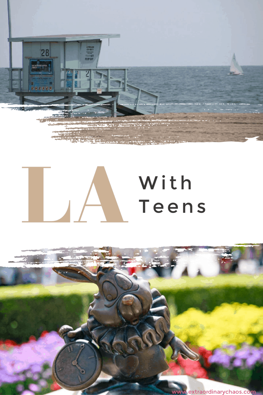 LA with teens, what to do on a Californian road trip with teenages and what to see in LA
