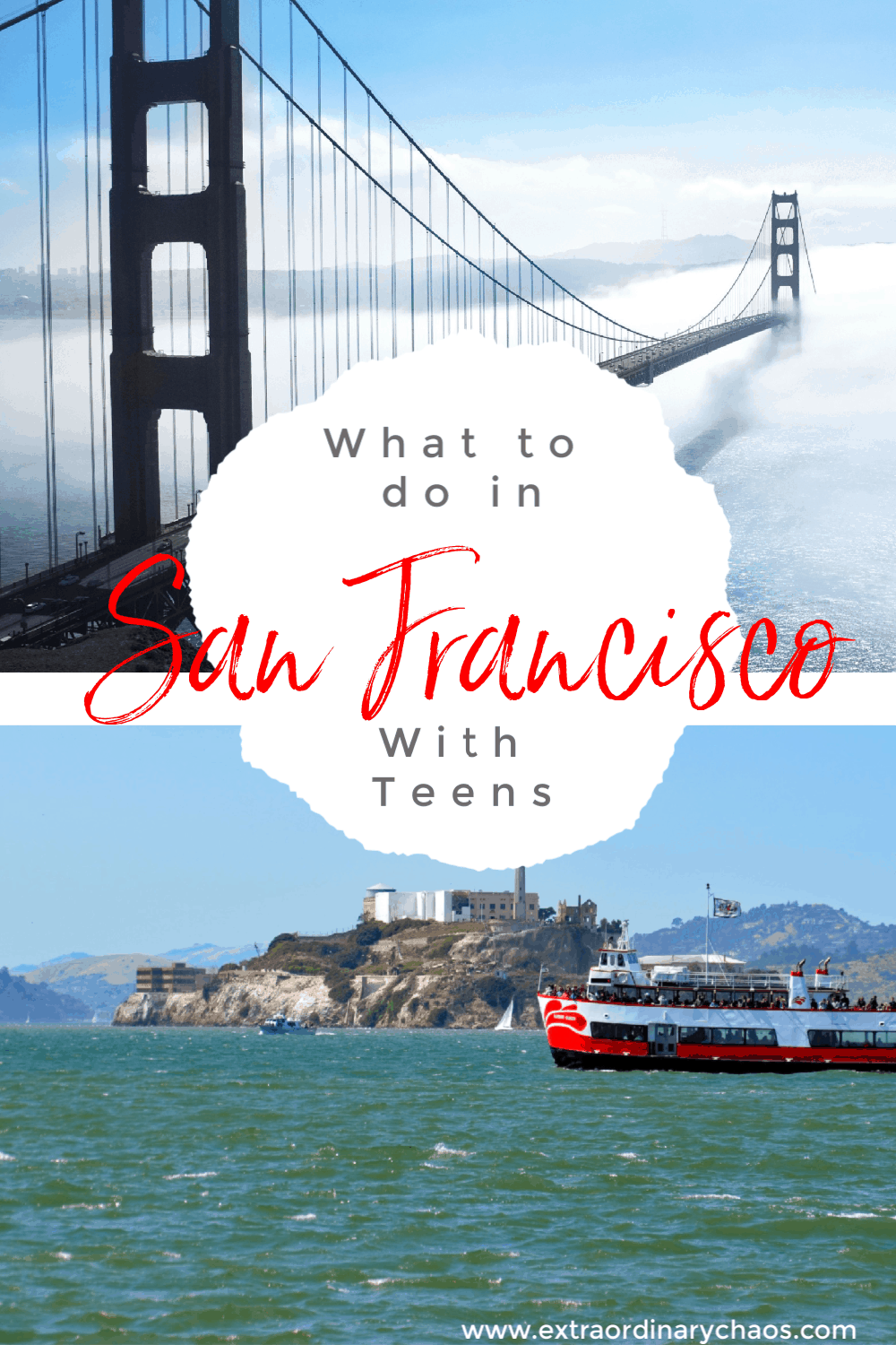 What to do in San Francisco with Teenagers