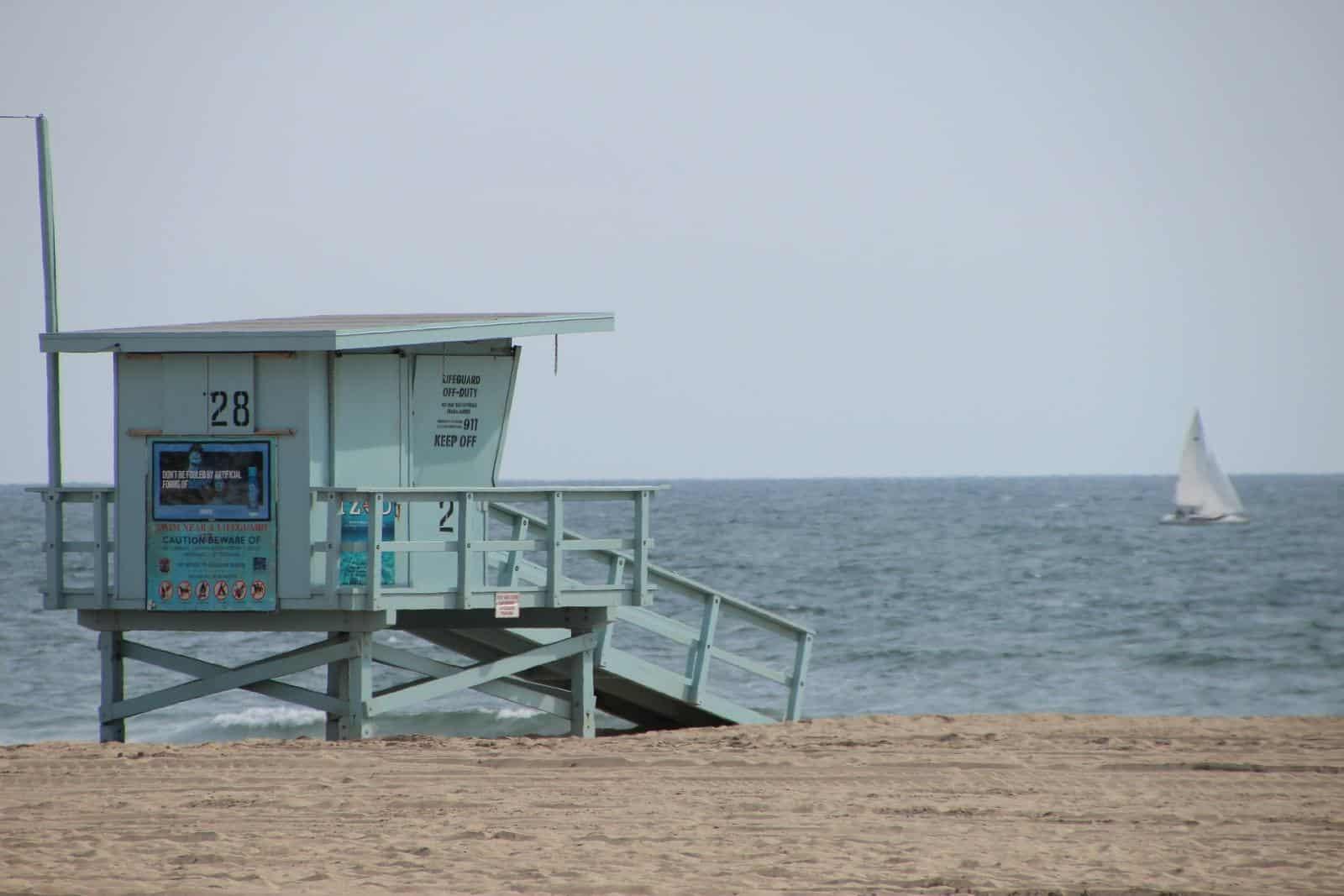 Visiting Santa Monica Beach With Teens