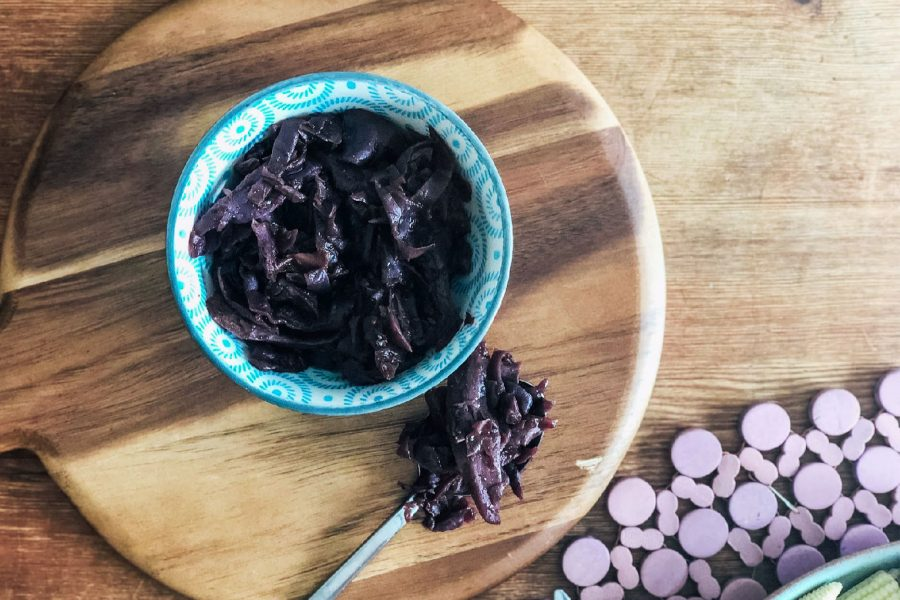 slow cooker red cabbage recipe