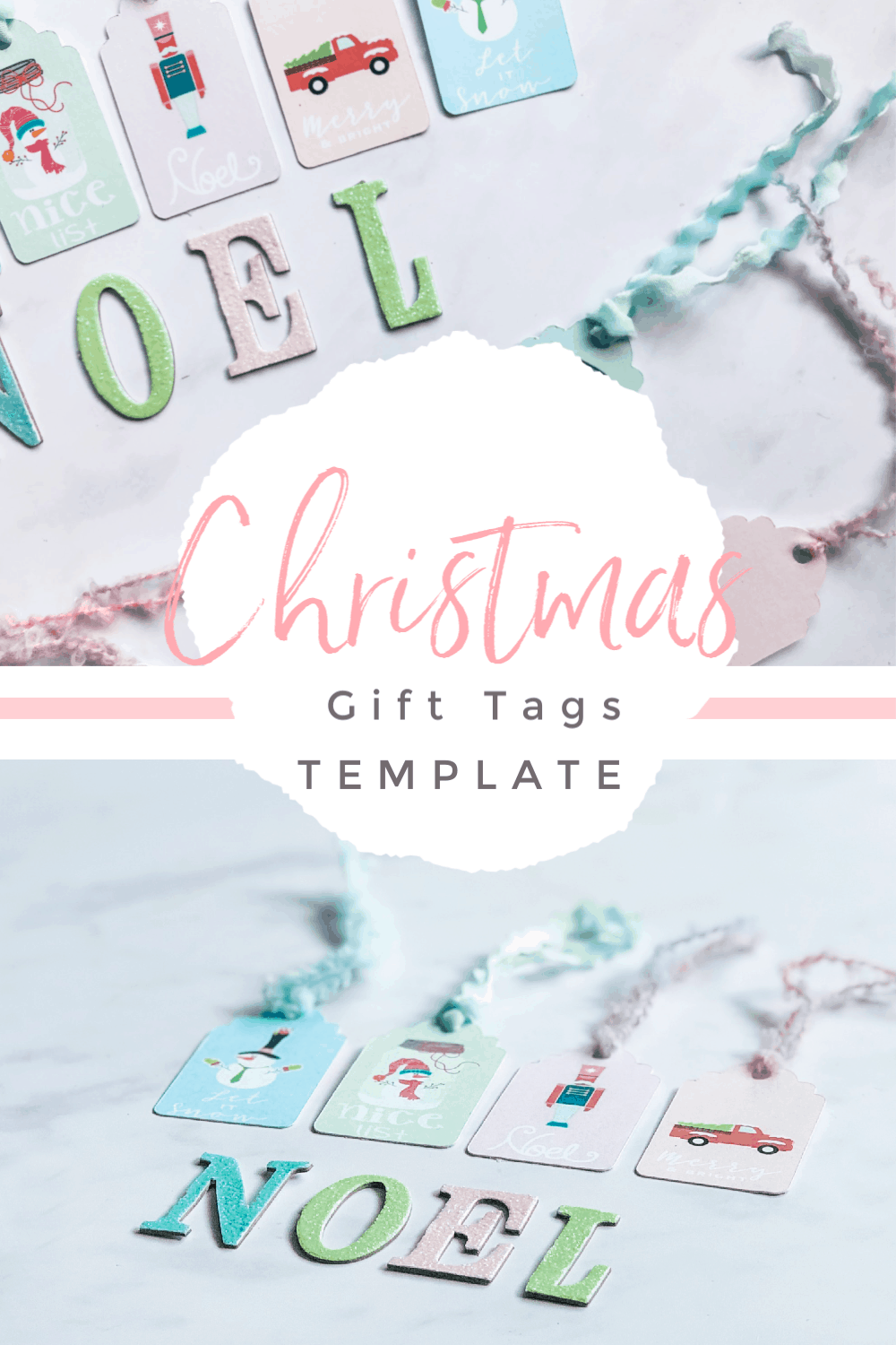 Christmas Gift Tag Template To Print And Cut