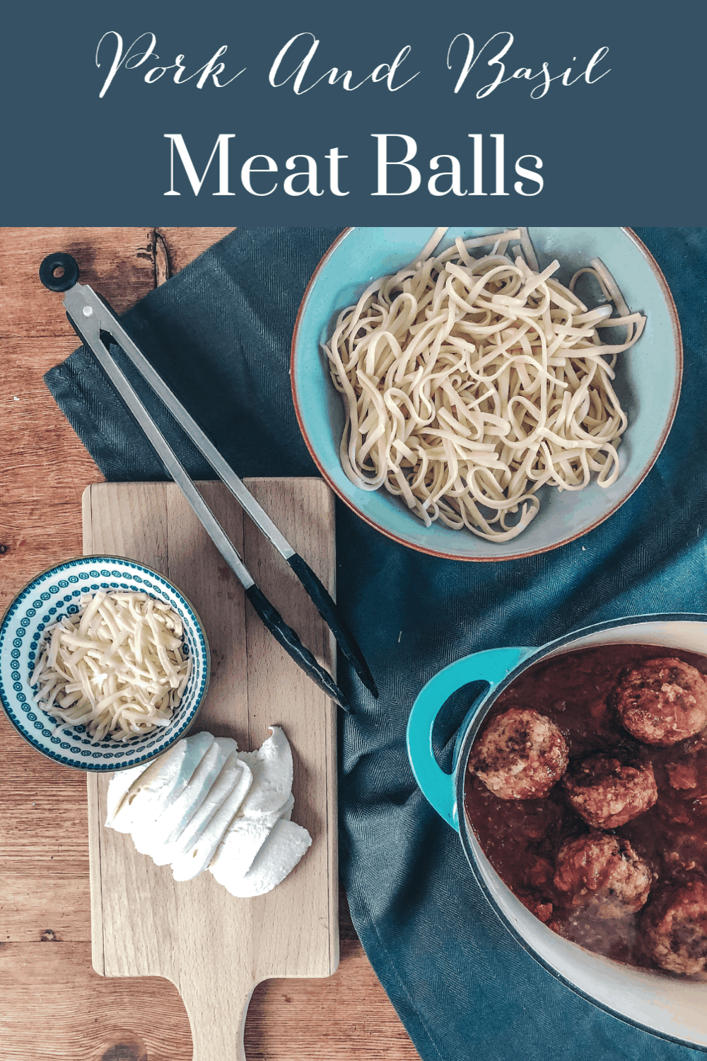 Pork and Basil Meatballs A Quick And Easy Midweek Meal
