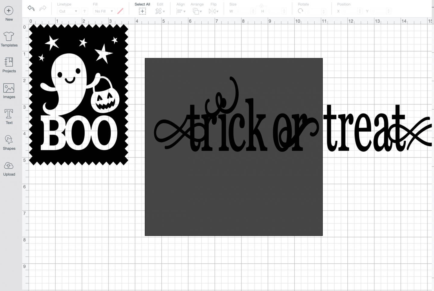 Slicing Letters in design space