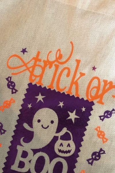 making trick or treat bags