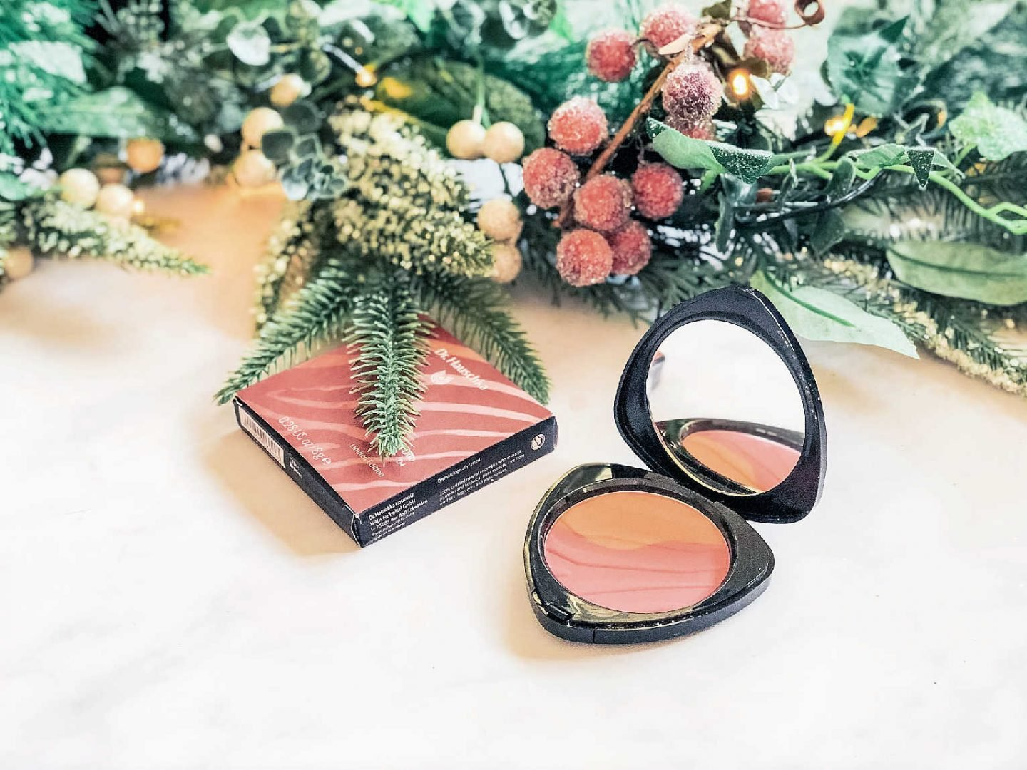 Bronzer and blusher in one