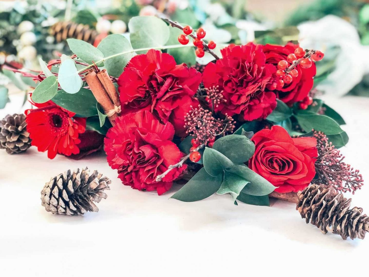 Floral Christmas Gifts