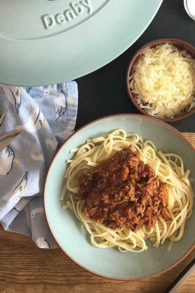 slimming world bolognese sauce
