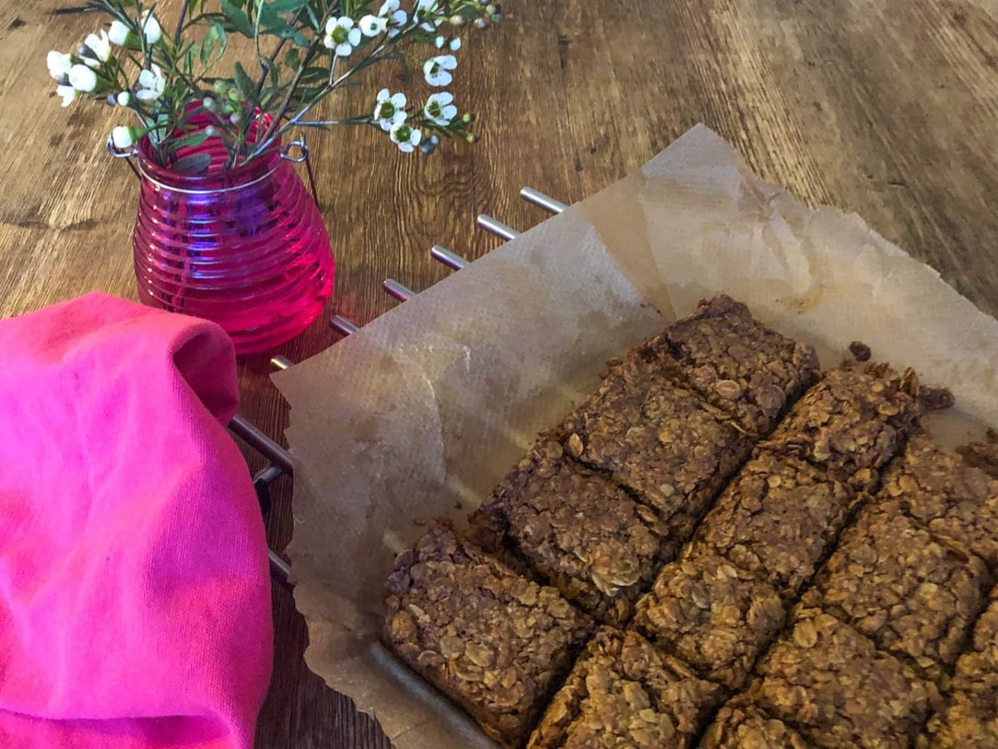 home made flapjacks a quick and easy family recipe