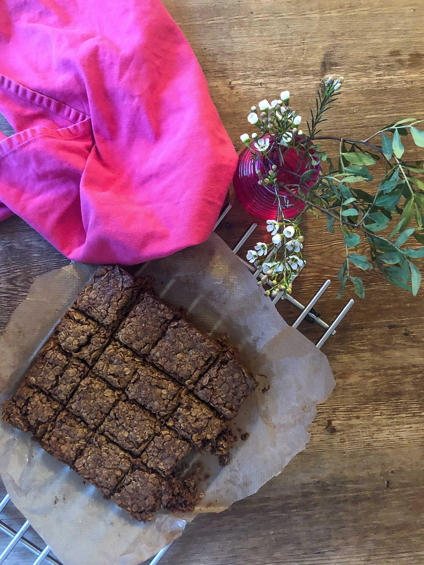 soft chocolate chip flapjack recipe