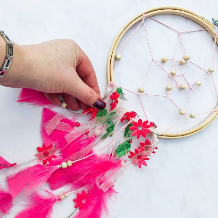 How To Make A Dreamcatcher Step By Step