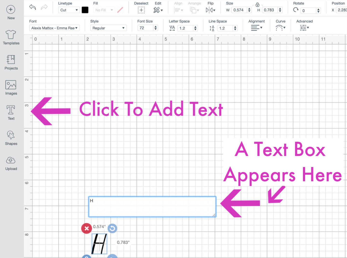 How to add text to you canvas-2