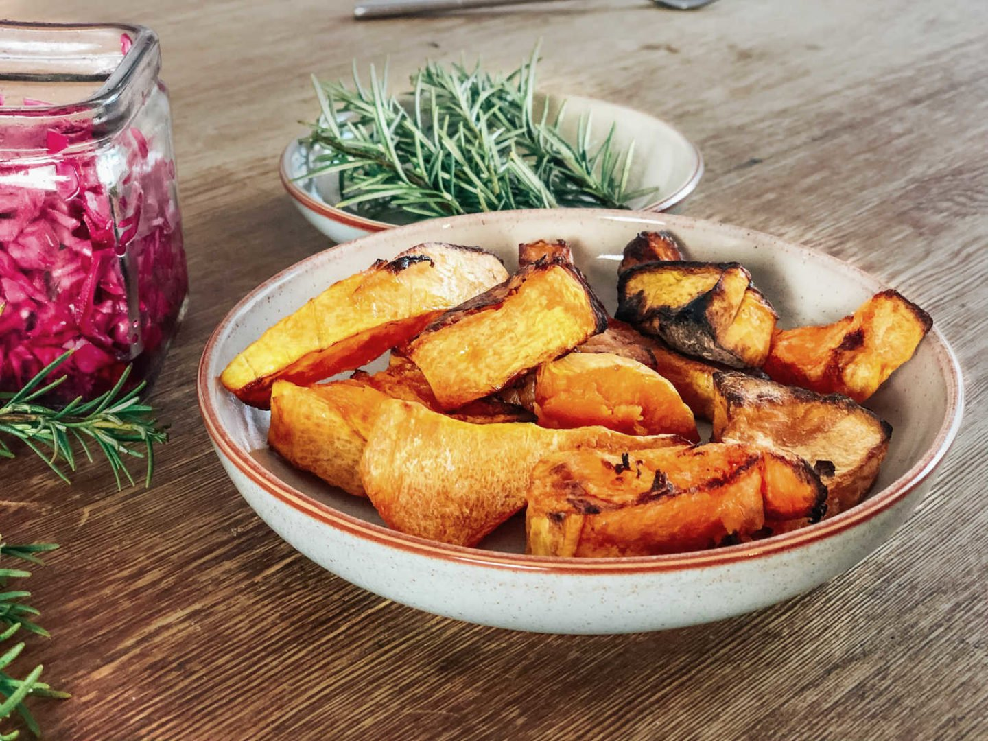How to cook butternut squash for roast dinner