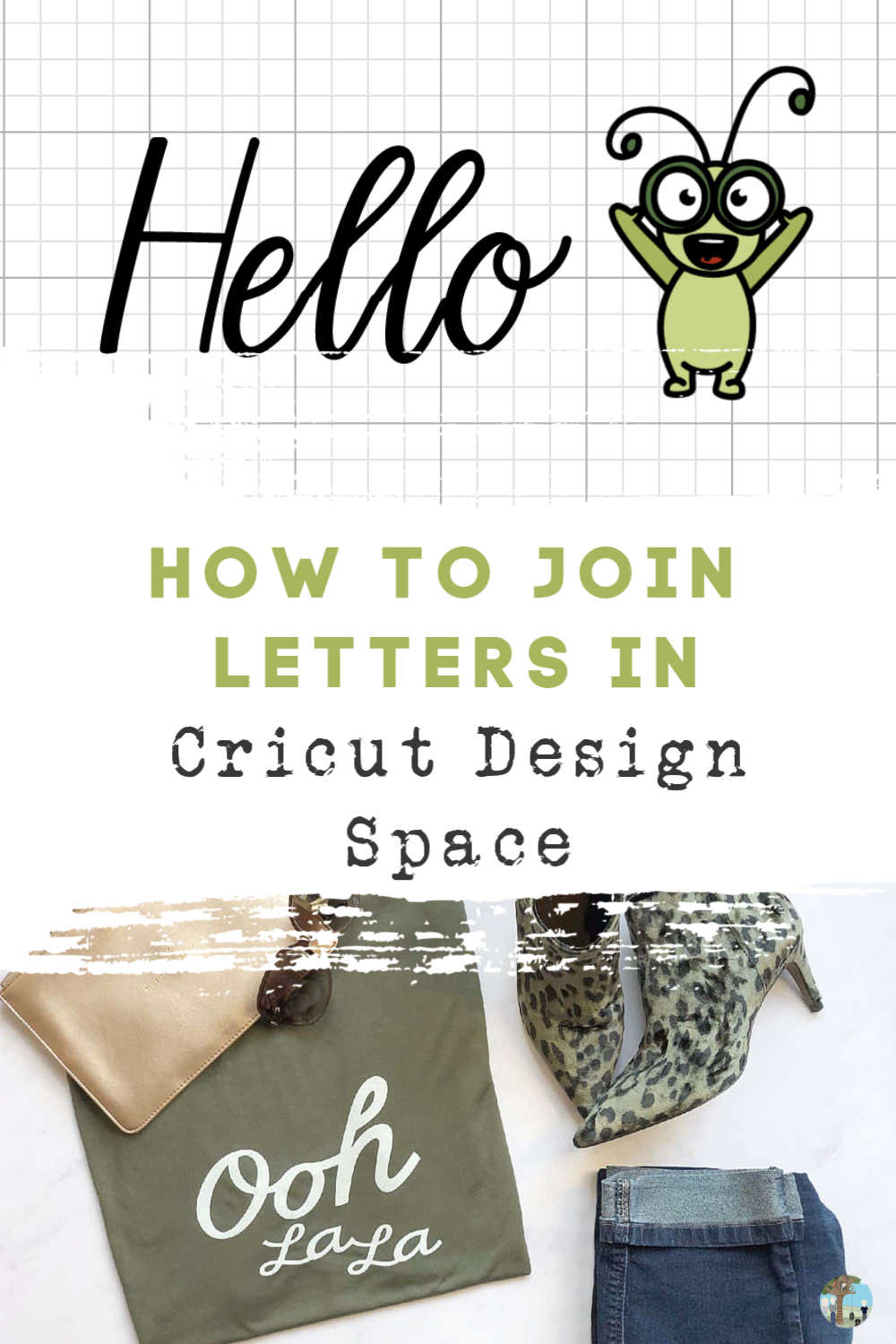How to join letters and work with text in cricut design space