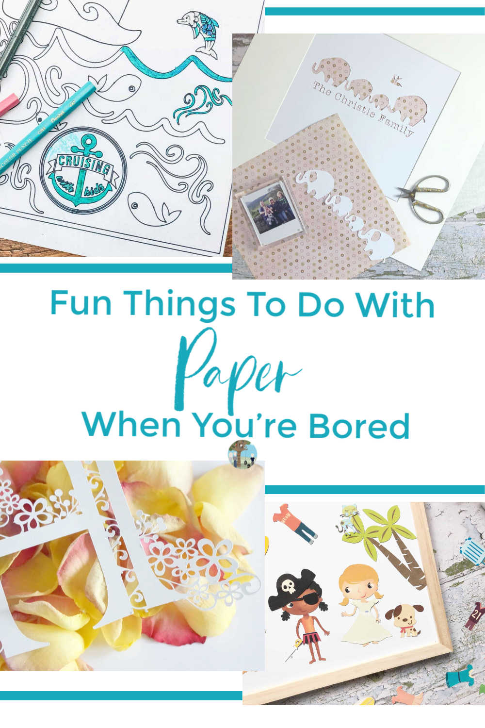 Fun Things To Do With Paper When You're Bored, great paper craft ideas for families, kids and teens