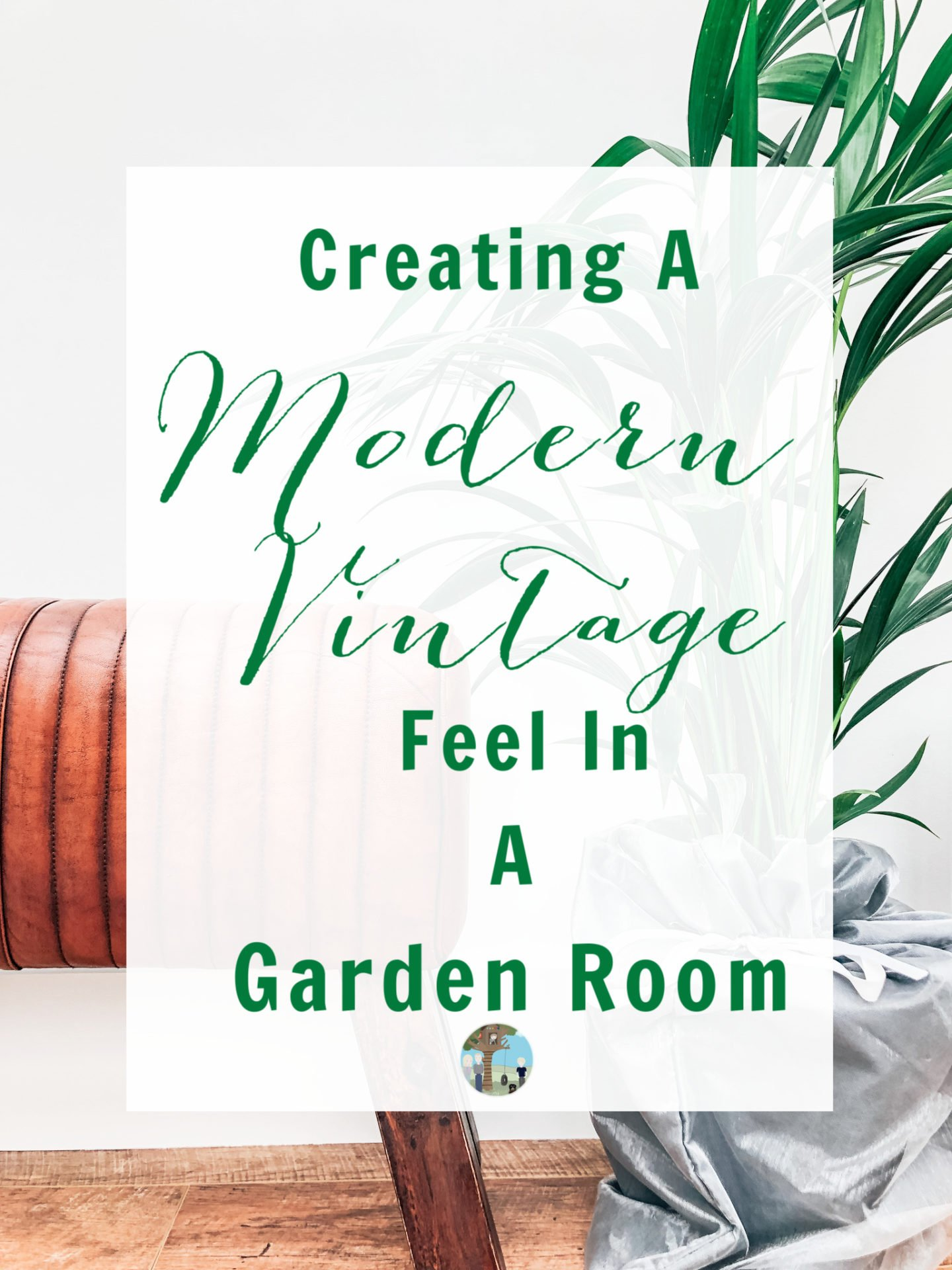 Using plant and accents to accessorise a vintage modern garden room -2