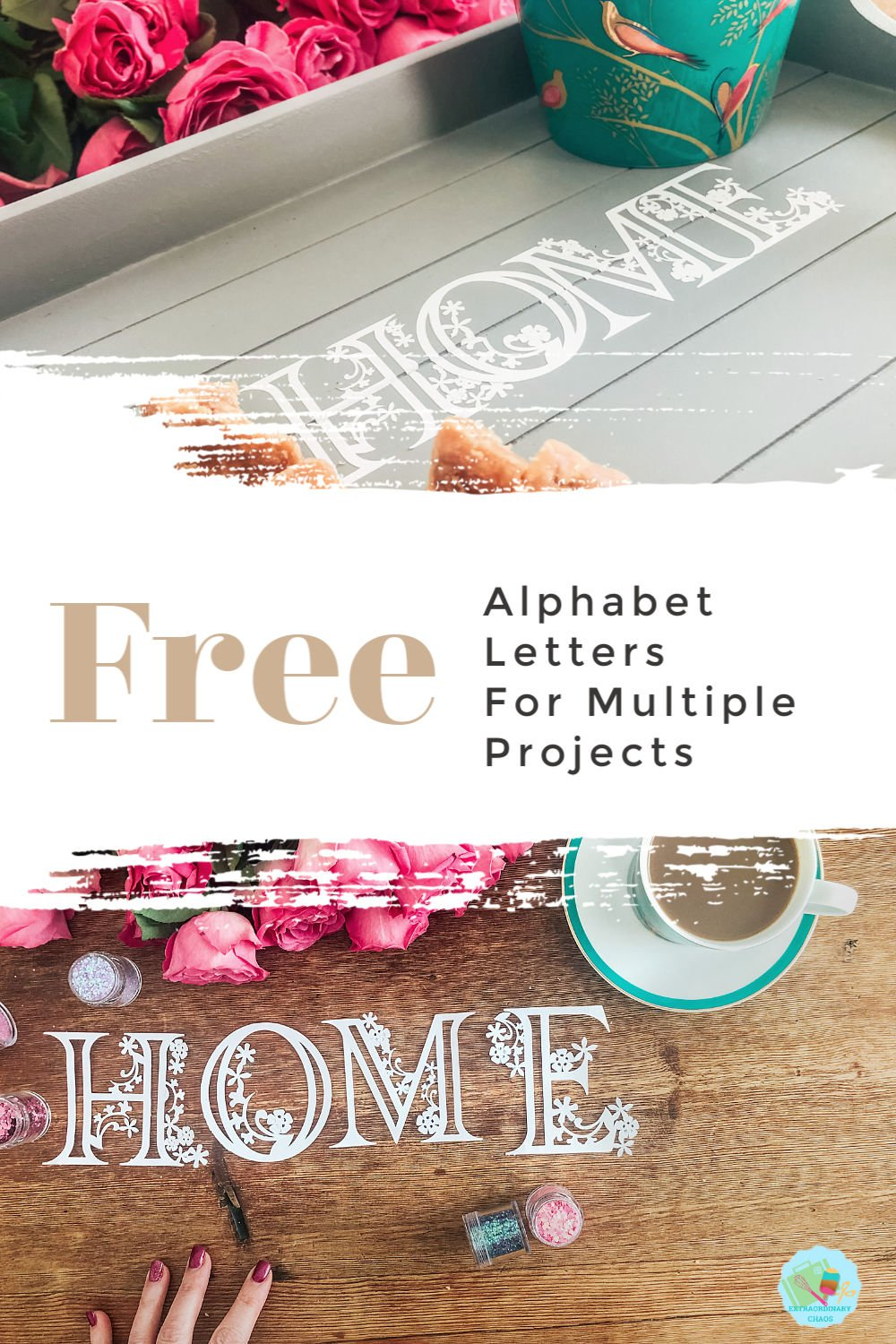 Alphabet Letters To Cut For Multiple Projects -2