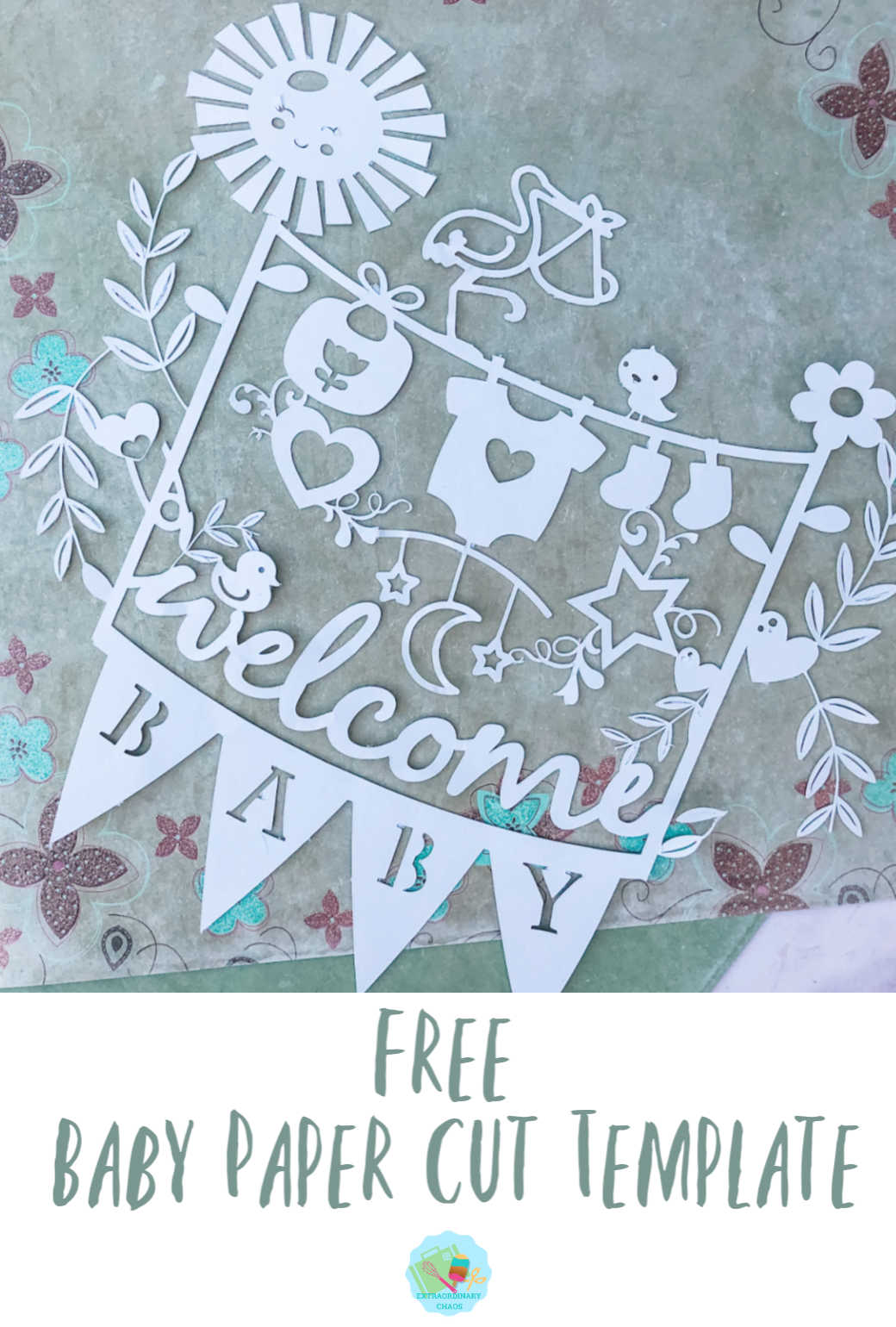 Free paper cut template for Cricut to make to sell or for gifts
