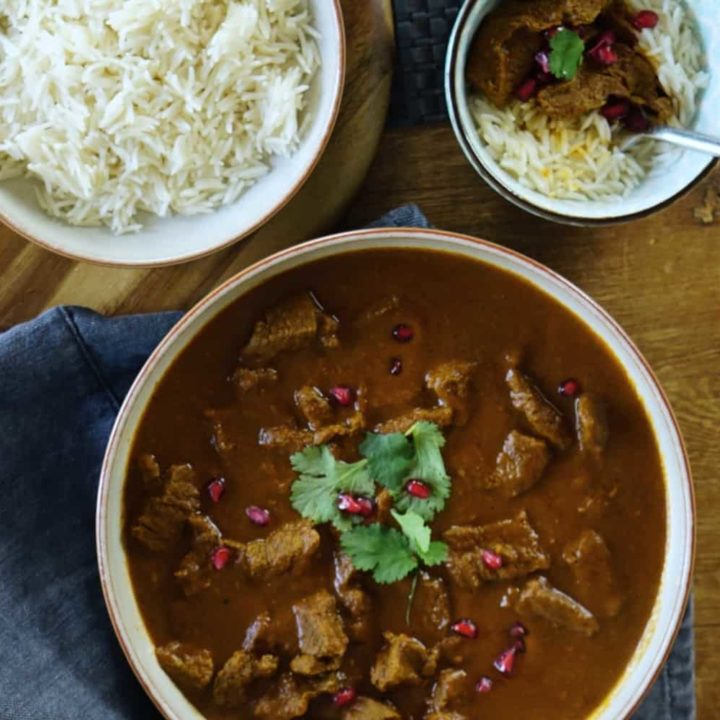 Slimming World Beef Curry, Pressure Cooker Recipe