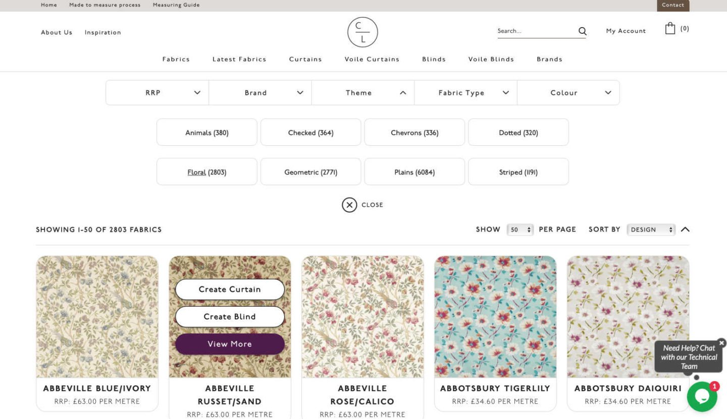 how to choose fabrics online from Couture Living-2